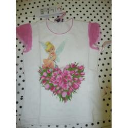 Monnalisa-футболка для девочек с Динь-Динь